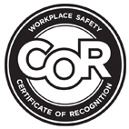 Certificate of Recognition (COR) Program through Partners in Injury Reduction (PIR)