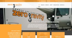 Zero Gravity Website Announcement